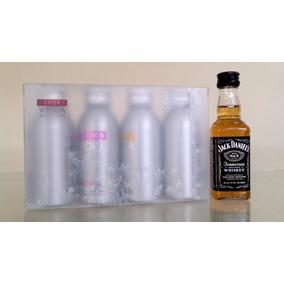 Kit Mini Vodka Danzka 50ml 4 Sabores - Ganhe Jack Daniel´s