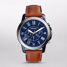 Reloj Fossil Blue Grant Chronograph Fs5151 | Watchito
