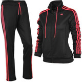 adidas Buzo Completo Ess 3s Suit Climalite Mujer
