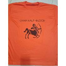 Camisa Acampamento Meio Sangue
