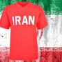 Camisa Retrô Iran Vermelha 1970