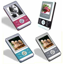 Mini Mp4 Player Com Visor Com 400 Musicas+fone+carregador