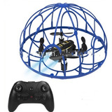 Mini Drone Cuadricoptero Antigolpes Protecccion 360 +control
