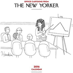 Dibujos Animados Del Calendario New Yorker 2016 Mini Wall