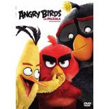 Dvd Angry Birds La Pelicula Nueva Original Estreno 2017