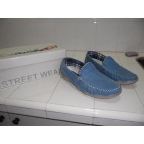 Zapatos Mocasines De Cuero Hombre Nauticos Narrow 42