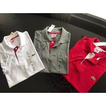 Camisa Polo Importada Peruana Lacoste Live Kit 30 Peças