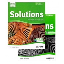 Inglés Solutions Elementary - Worbook & Student´s Book