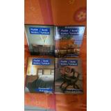 Cuatro Libros Muebles Rústicos.