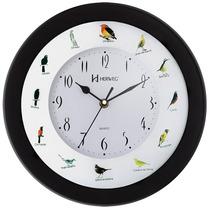 Relógio De Parede Sweep Canto De Passaros Brasileiros Herweg