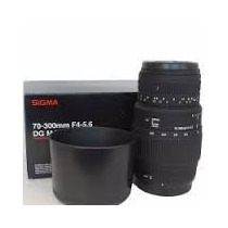 Sigma 70-300mm F4-5.6 Dg Macro Canon / Nikon