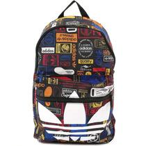 Mochila Trifoil Graphic Classic Backpack Adidas Az0280
