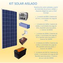 Planta Solar Sistema Aislado
