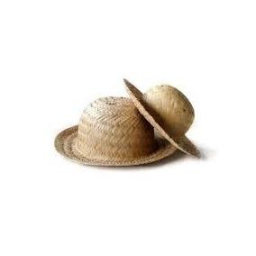 Chapéu De Palha Laranjinha Decoração, Enfeites Festas C/10