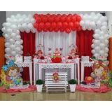 1 Cortina 6x2,2 Decoração Festa Aniversario Infantil Buffet
