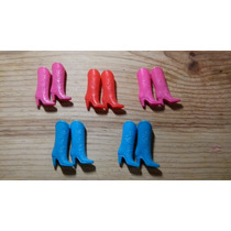 Botitas Vaqueras Para Barbie Originales Vintage Noventera