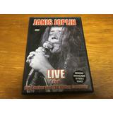 Dvd Janis Joplin Live