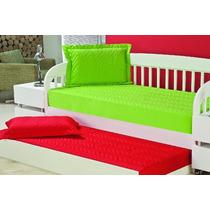 Promoção Colcha Sleep C/ Porta Travesseiro Bicamas