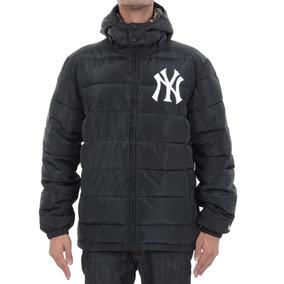 Jaqueta New Era New York Yankees Style Bomber Preta