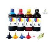 Kit Refil Tinta Impressoras Hp Pró 8100 8600 8610 (4x500ml)