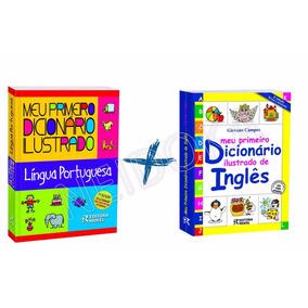 Meu Primeiro Dicionário Ilustrado Português + Inglês