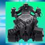 Rompecabezas Batimovil 3d Figuras Metalico Piezas Armables