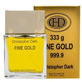 Fine Gold Man Eau De Toilette Christopher Dark - 100ml