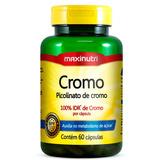 Cromo Quelato Maxinutri 60 Cápsulas # Picolinato De Cromo