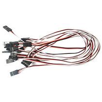 Cable De Extensión Vimvip 10pcs 300 Mm Macho A Macho Servo