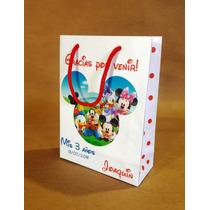 Bolsitas Personalizadas Mickey, Minnie Y Mas X10