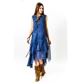 Vestido Feminino Com Renda Autêntico Longo (sonhar) - Stone
