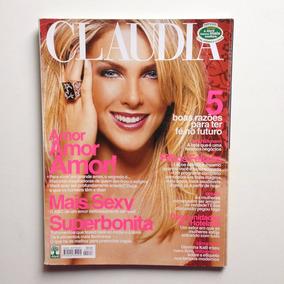 Revista Claudia Nº513 Ana Hickmann Ano 2004