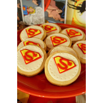 Candy Bar Superman - Golosinas, Cookies, Cupcakes, Cake Pops