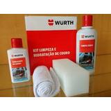 Kit Limpeza E Hidratação De Banco De Couro Wurth Hidratante