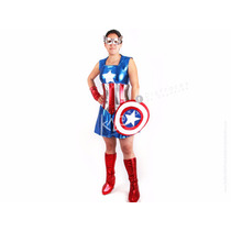Disfraz De Chica América