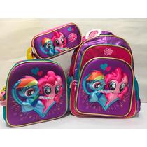My Little Pony Kit 3d Mochila Lonchera Lapicera