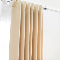 Jgo 2 Cortinas Black Out Catania Beige Vianney Envio Gratis