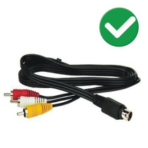 Cable Directv Prepago A / V 10 Pin A Rca Deco L14 Skyfeetv