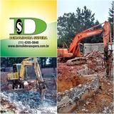 Alugo Escavadeira | Rompedor Hidráulico | Mini-escavadeira