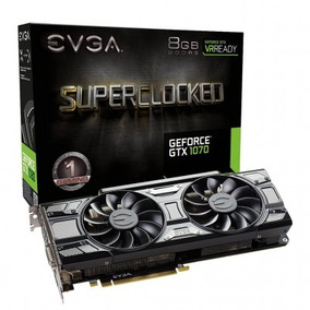 Evga Geforce Gtx 1070 Sc Gaming 8gb 256 Bits 12x Sem Juros