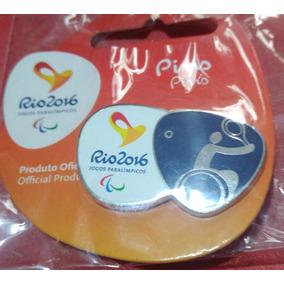 Pin Rio 2016 Oficial - Tenis Cadeira Rodas Paralimpico