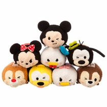 Disney Mickey Mouse Y Amigos Tsum Tsum Mini Felpa Coleccion