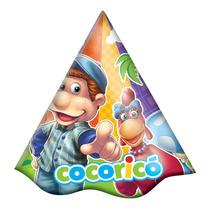 Chapéu Aniversário Cocoricó 8un