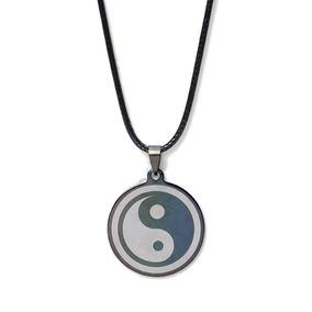 Collar Yin Yang Acero Inoxidable Dama Caballero Accessorios