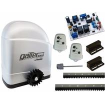 Kit Motor Portão Eletronic Deslizante Fast Gatter 1/4hp 127v