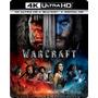 Warcraft: 4k Ultra Hd + Blu Ray + Digital Hd