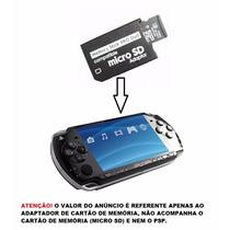 Adaptador Do Cartão De Memória P/ Micro Sd Psp Play Station