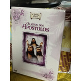 Dvd A Bíblia Viva Os Atos Dos Apóstolos 4 Discos
