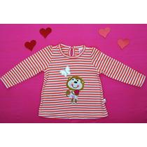 Blusa Minicolor Manga Larga Bebe Niña 1-4 Años