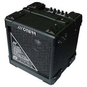 Amplificador Cubo Baixo Onerr Block 20ba 20w Rms - Hendrix